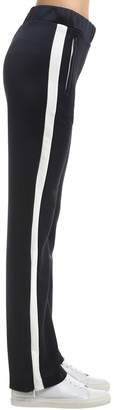 Moncler Soft Jersey Track Pants With Side Bands