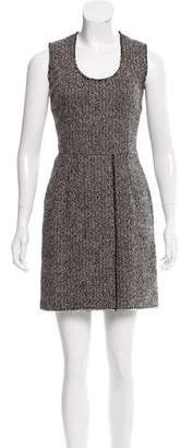 Dolce & Gabbana Sleeveless Knit Mini Dress