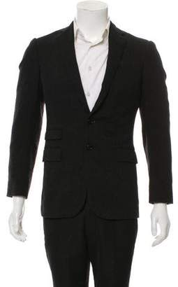 Ralph Lauren Black Label Wool Two-Button Blazer