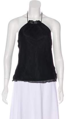 Laundry by Shelli Segal Silk Halter Top w/ Tags
