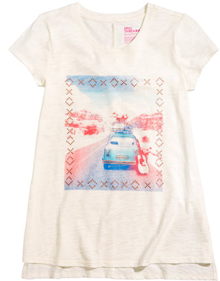 Epic Threads Road Trip T-Shirt, Big Girls (7-16), Created for Macy's $18 thestylecure.com