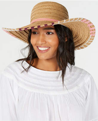 INC International Concepts I.n.c. Whipstitch Edge Floppy Hat