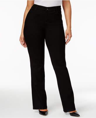 Style&Co. Style & Co Plus & Petite Plus Size Tummy-Control Bootcut Jeans