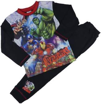 Iron Man Childrens Character Boys Avengers Marvel Pyjamas Set Thor Hulk Capt America 4-5Y to 9-10Y
