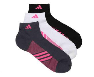 adidas Superlite Spiral Ankle Socks - 3 Pack - Women's