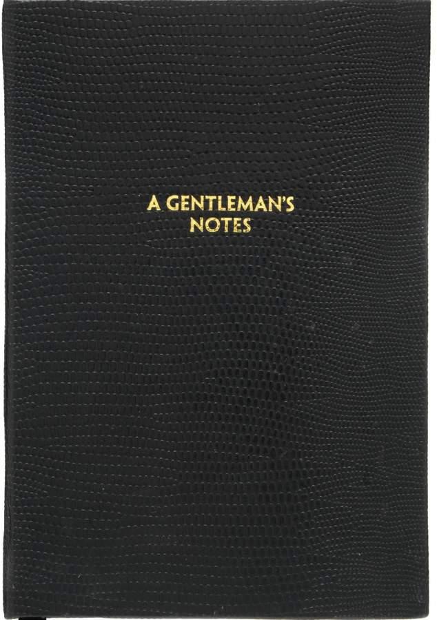 A Gentleman's Notes Pocket Notebook
