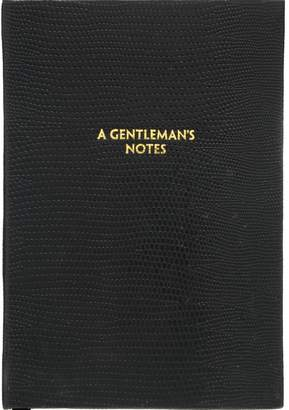 Sloane Stationery A Gentleman's Notes Pocket Notebook