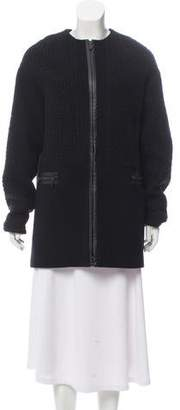 Dawn Levy Textured Zip-Up Jacket w/ Tags