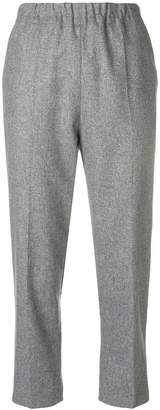 Parker Chinti & plain cropped trousers