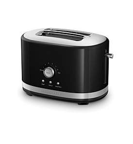 KitchenAid Kmt2116 Long Slot 2 Slice Toaster - Black
