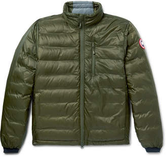 Canada Goose Lodge Packable Quilted Ripstop Shell Down Jacket