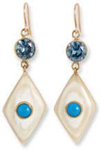 Ashley Pittman Ngome Diamond-Shaped Drop Earrings