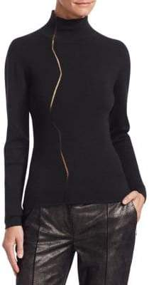 Akris Marble Mockneck Sweater