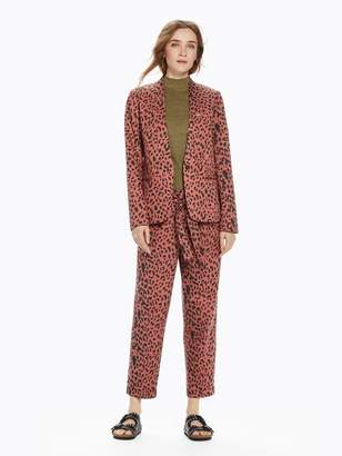 Scotch & Soda Leopard Print Blazer