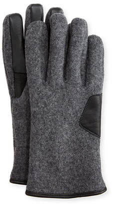 UGG Men's Fuzzy Knit Smart Gloves