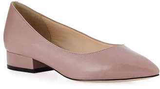 Cole Haan Vesta Grand Leather Skimmer Flats, Twilight Mauve