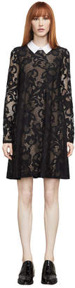 BCBGMAXAZRIA Roxine Lace A-Line Dress