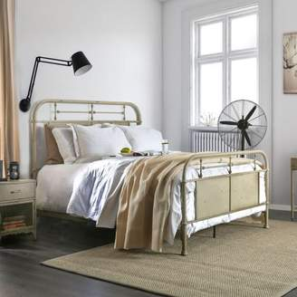 Furniture of America Staley Industrial Metal Bed, Multiple Colors, Multiple Sizes