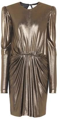 Saint Laurent Metallic dress