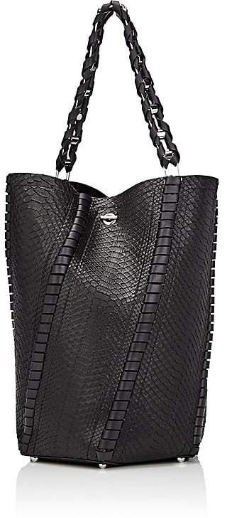 Proenza Schouler Women's Hex Large Python Bucket Bag