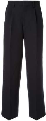 Coohem knit side line trousers