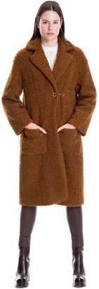 Max Studio curly faux fur coat