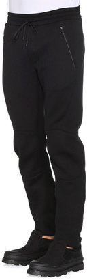 6dea335b98f9 Monster Long-Sleeve Shirt with Zip-Mouth   Drawstring Moto Sweatpants