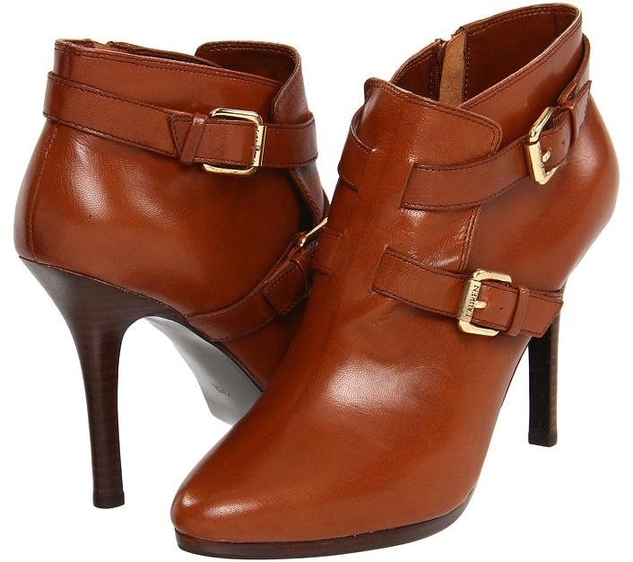 Lauren Ralph Lauren Lorelei (Polo Tan Kidskin) - Footwear