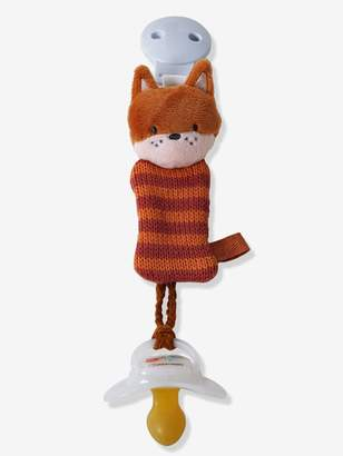 Vertbaudet Dummy Holder with Clip, Fox