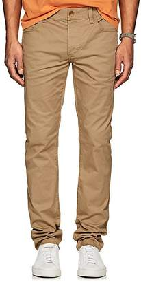 James Perse MEN'S STRETCH-COTTON TWILL SLIM 5-POCKET CHINOS