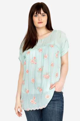 b96faa65a81215 Johnny Was Rose Dolman Top-Plus Size