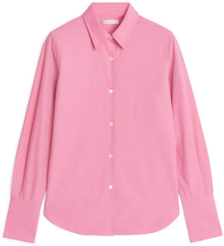 Arket Slim Poplin Shirt