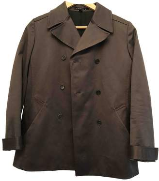 Theory Grey Cotton Jacket for Women