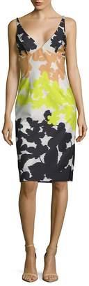 Milly Women's Liz Sleeveless Print Dress