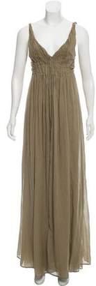 Hache Sleeveless Maxi Dress w/ Tags