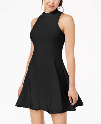 The Edit By Seventeen Juniors' Cutout Fit & Flare Dress, Created for Macy's