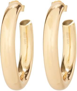 Melanie Auld Mini Modern Gold Hoop Earrings