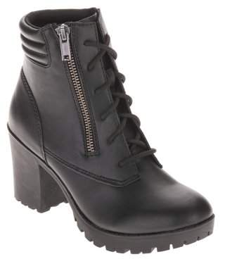 Big Buddha Women's Moto Heel Boot