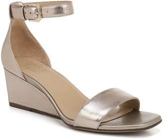 4a14edad7003 Naturalizer Brown Ankle Strap Women s Sandals - ShopStyle