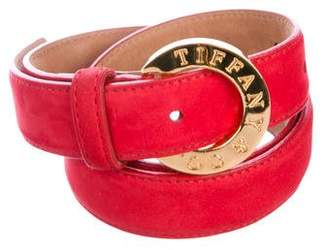 Tiffany & Co. Leather Waist Belt