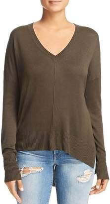 Aqua Seamed High Low Sweater - 100% Exclusive 97a1724b5
