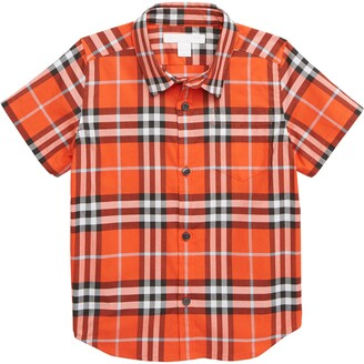 Burberry Fred Pocket Plaid Woven Shirt