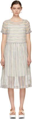 YMC Multicolor Striped Perhacs Dress