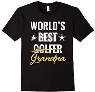 World's Best Golfer Grandpa T-Shirt