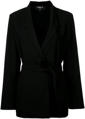 Paule Ka woven belted jacket