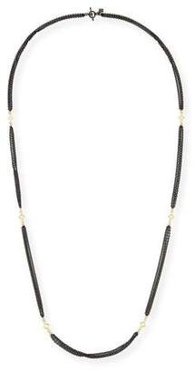 Armenta Old World Three-Strand Cable Chain Necklace