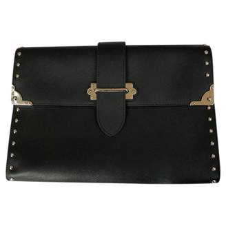 Prada Leather Clutch Bag
