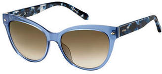 Fossil 2058-S 54mm Contrast Butterfly Sunglasses