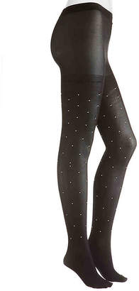 Steve Madden Pearl Stud Tights - Women's