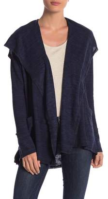 Elan International Open Front Hooded Cardigan